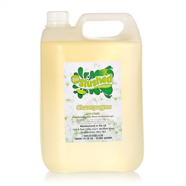 Champagne Slush Syrup 4x5L