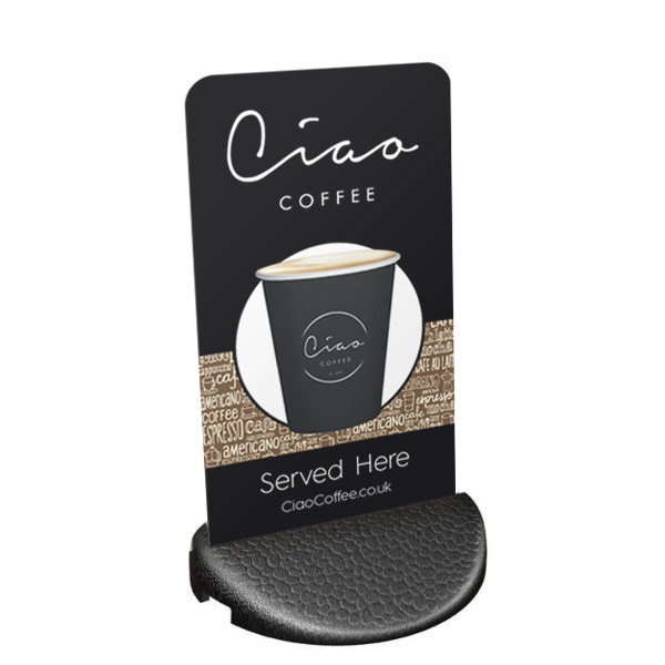 Ciao Coffee Pavement Sign