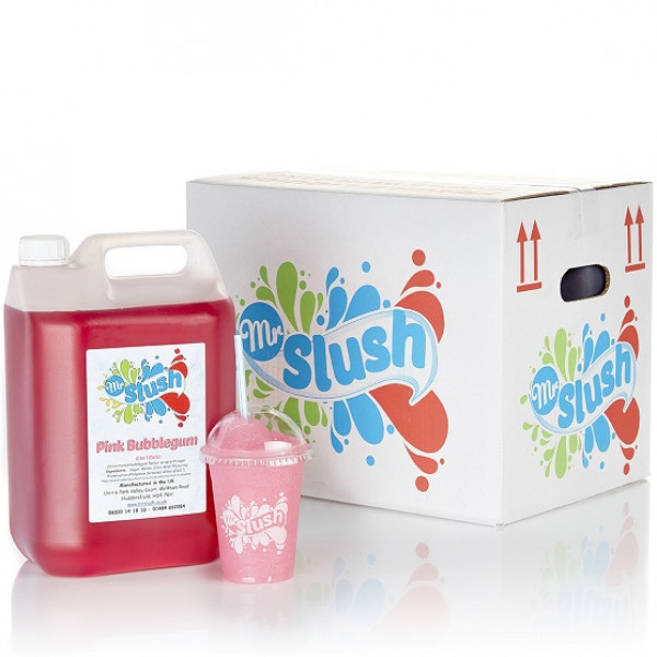 Cotton Candy Slush Syrup 4x5L