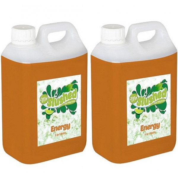 Energy Slush Syrup 2x5L