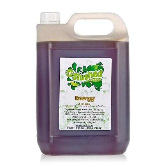 Energy Slush Syrup