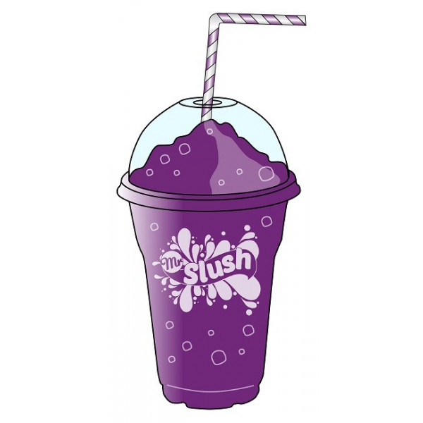 American Grape Slush Drink