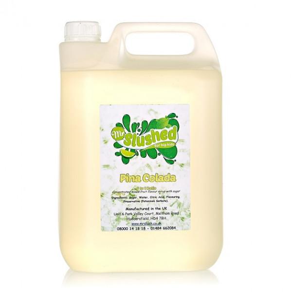Pina Colada Slush Syrup 4x5L