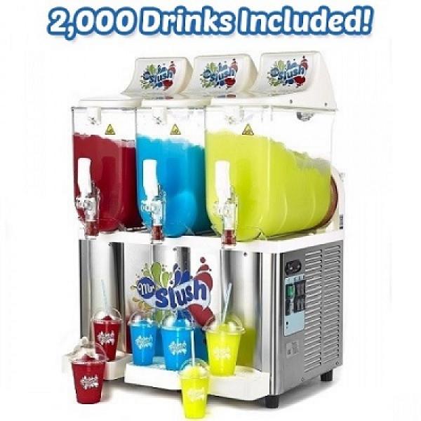 Sencotel Slush Machine 30L 2,000 Drinks