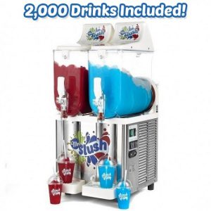 2,000 Drinks Sencotel Slush Machine