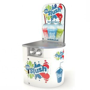 Slush Machine Compact Display Stand