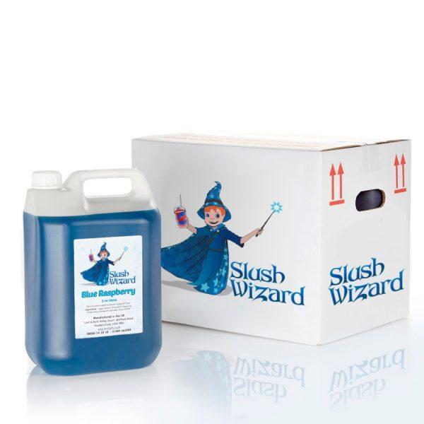 Slush Syrup Blue Raspberry Wizard
