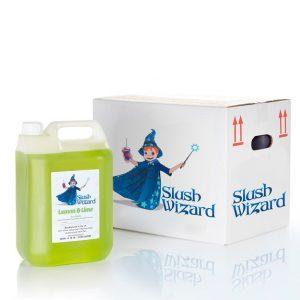 Slush Syrup Wizard Lemon Lime