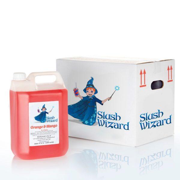 Slush Syrup Orange Mango Wizard