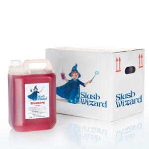 Slush Syrup Strawberry Wizard