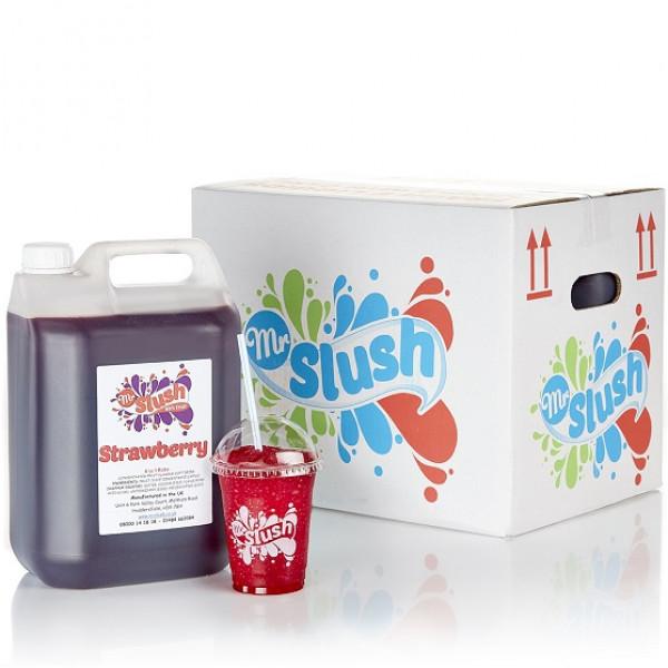99% Strawberry Syrup 4x5L