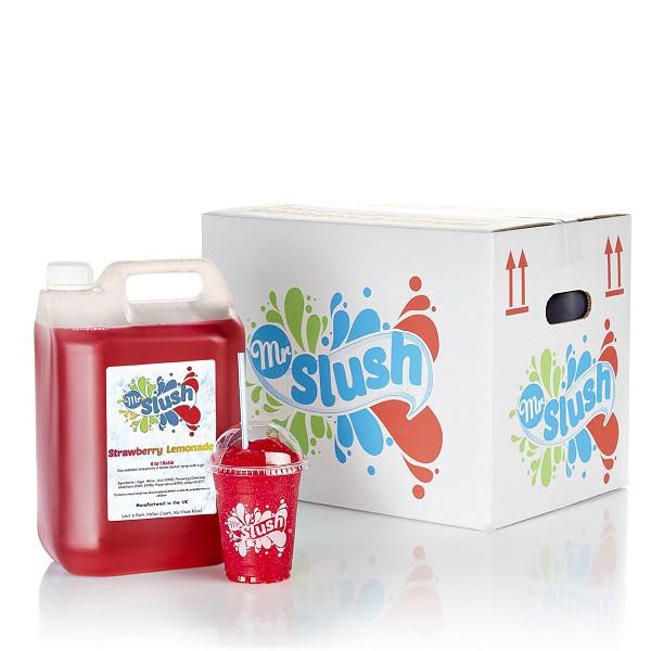 Strawberry Lemonade Syrup 4x5L