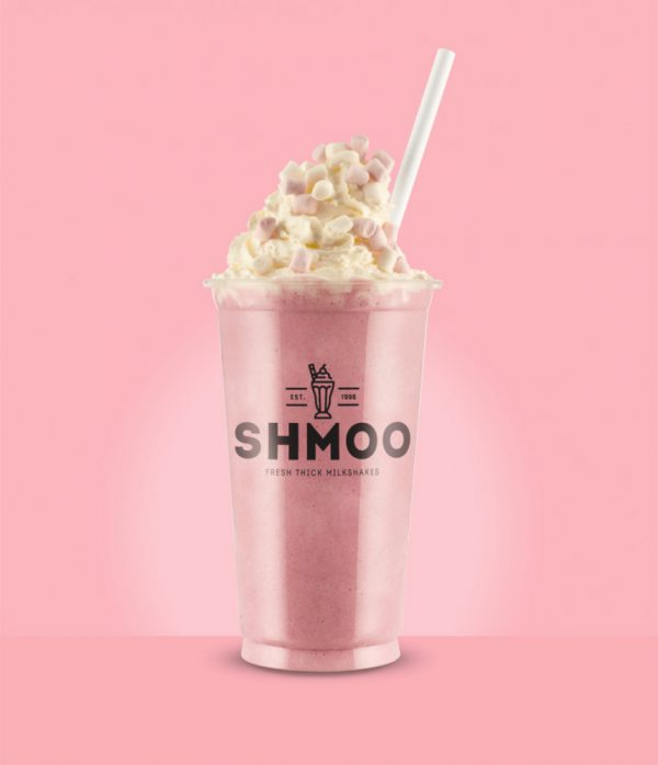 Shmoo Strawberry Milkshake