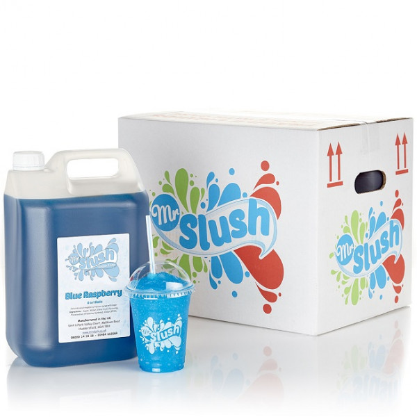 Blue Raspberry Sugar Free Syrup 4x5L