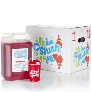 Strawberry Sugar Free Syrup 4x5L