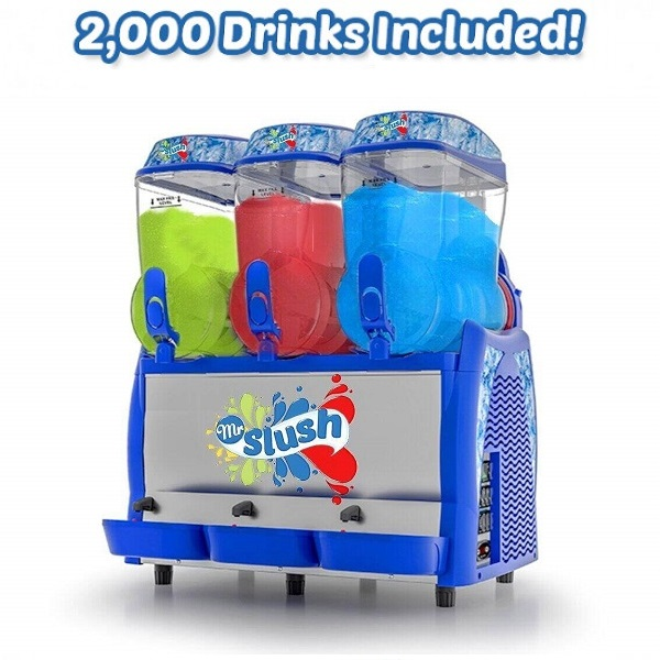 Triple Granisun Slush Machine Bundle